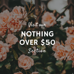 Nothing Over $50