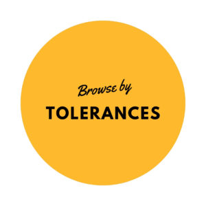 Browse by Tolerances